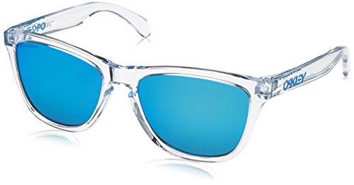 Oakley Frogskins 9013d0 Occhiali da Sole, Bianco (Transparente), 0 Unisex-Adulto