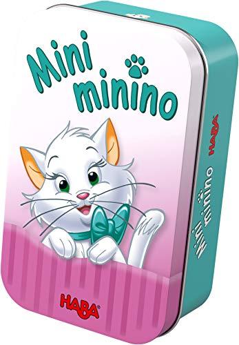 Haba- Juego de mesa, Mini Minino, Multicolor (Habermass H304629) , color/modelo surtido