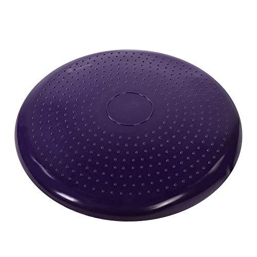 Cojín de yoga, alforfón popular de meditación de yoga hecho de PVC para la recuperación del tobillo con color de la bomba (púrpura)