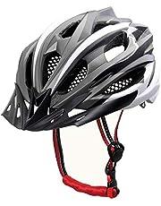X-TIGER Fietshelm MTB Mountainbike Helm Met Verwijderbare Visor Mountain Road Fiets MTB Helmen Verstelbare Fietshelmen voor Volwassen Heren Dames