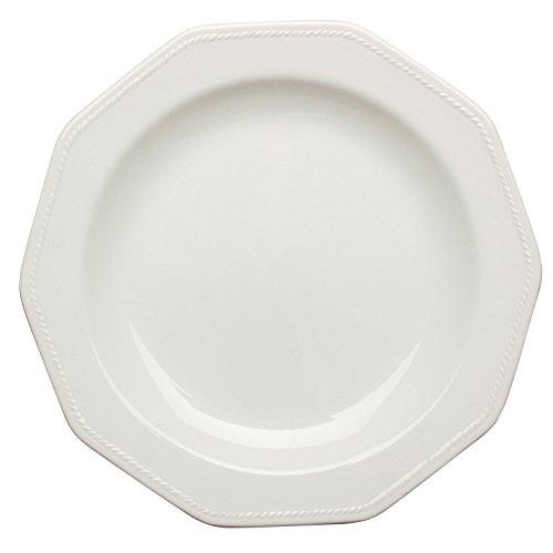 Churchill Artic White - Set 6 platos llanos 25 cm Artic White