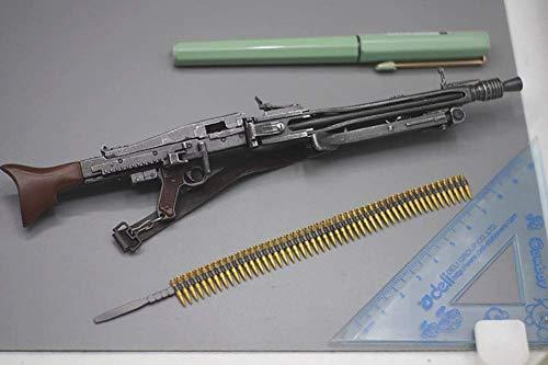 ZSMD 1/6 figura de acción de juguete MG42 para armas ligeras de la Segunda Guerra Mundial, modelo de plástico en miniatura NicStartbar para PHICEN, Tbleague,