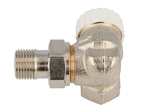 TA Heimeier thermostaat-ventielonderdeel V-precies II Wi-Eck li RG vernikkeld 1/2 inch, 3713-02.000