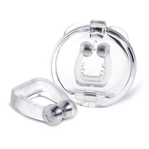 4Pcs Magnetic Anti Snore Clip, Magnetic Nose Clip, Anti Snoring Device for Sleeping, Professional Snoring Solution Anti Snore Nose Clip Sleeping Aid...