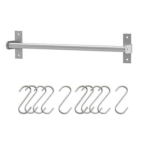 Ikea GRUNDTAL Edelstahl Schiene mit schüttelte 10pack