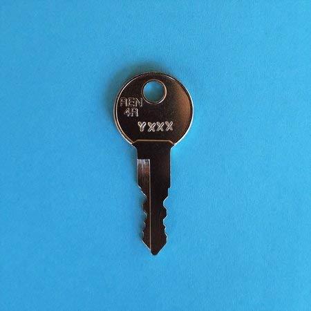 Ersatzschlüssel für Fahrradträger Systeme von Eufab und Bosal. Schlüssel Y - Code 002