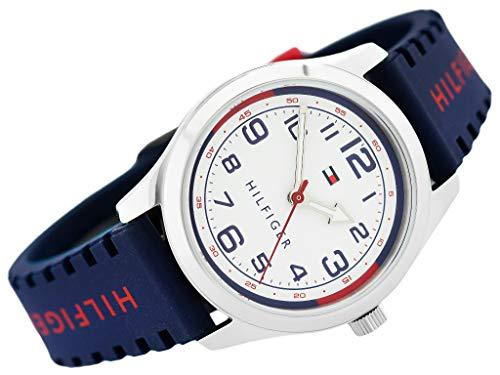 Tommy Hilfiger – Uhr Cadete – Kind Kommunion – Silikon blau – 1791458