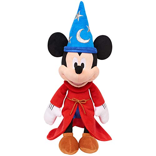 "Mickey Mouse 90th Anniversary The Sorcerer's Apprentice 14"" Musical Plush -Exclusive"