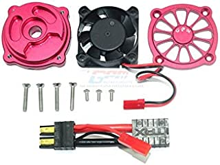 Part & Accessories 1/7 TRAXXAS UNLIMITED DESERT RACER UDR ALLOY MOTOR COOLING FAN -SET UDR018FAN - (Color: Clear)