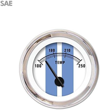 Aurora Instruments 3850 Cobra Denver Max 55% OFF Mall White SAE Gauge Temperature Water