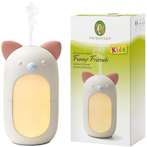 PRIMAVERA Aroma Leuchte Emotion - elektrische Duftlampe, Aromadiffuser, Raumduft - Aromatherapie - 6 Beleuchtungsfarben und warmweißes Licht
