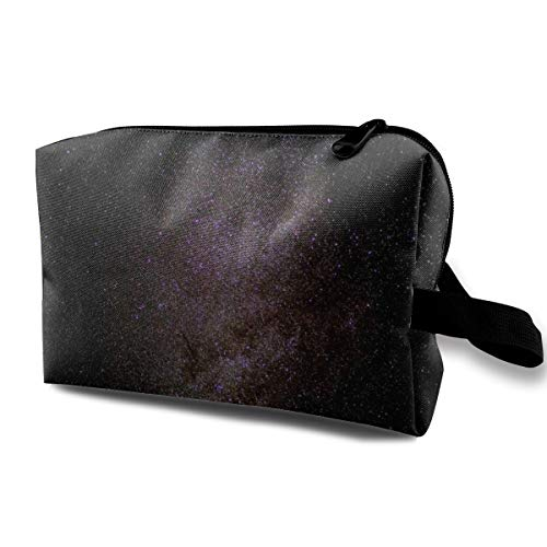 milky-way starry sky star galaxies Cosmetic Bag Travel Makeup Cases Portable Storage Toiletry Pouch for Women