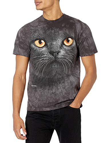 The Mountain Camesita Big Face Black Cat Pet Adulto Unisexo M