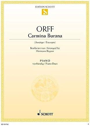 Carmina Burana Piano