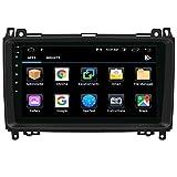 NVGOTEV 9 Pulgadas Autoradio 1 DIN Android 10 Radio de Coche para Mercedes...