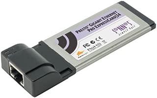Sonnet Technologies - Sonnet Presto Gigabit Ethernet Pro ExpressCard/34