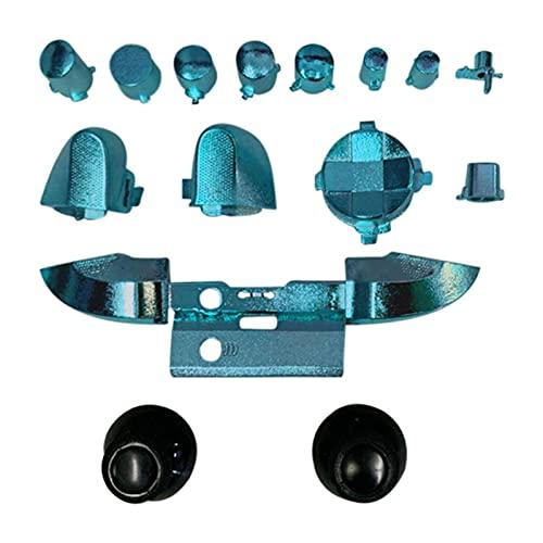 Botones de repuesto para el controlador X-box Series X, kit de botones completos, botones completos, control de botones de repuesto no incluido para el controlador X-box Series X & S