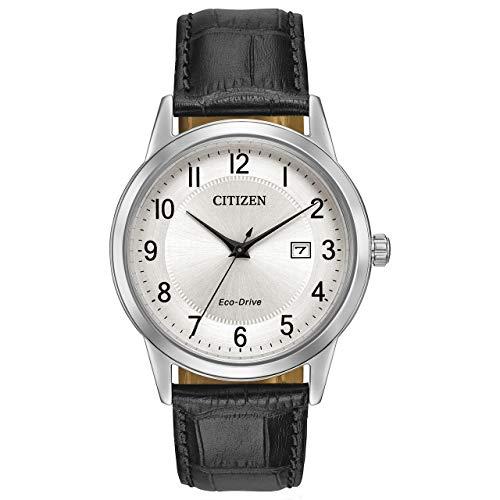 CITIZEN Herren Analog Quarz Uhr mit Leder Armband AW1231-07A