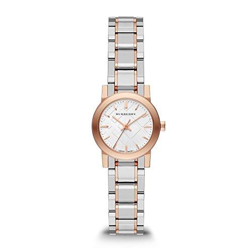 BURBERRY BU9205 - Reloj para Mujeres, Correa de Acero Inoxidable Color Plateado