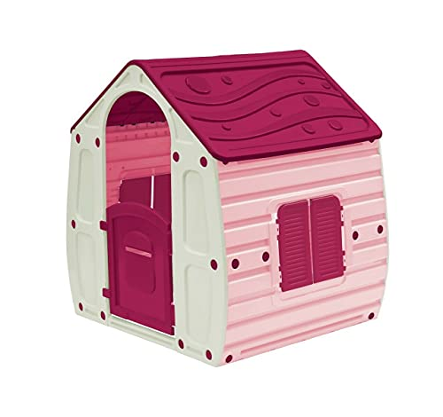 Pink Childrens Playhouse Wendy House Magical Play House Suitable For In Or...