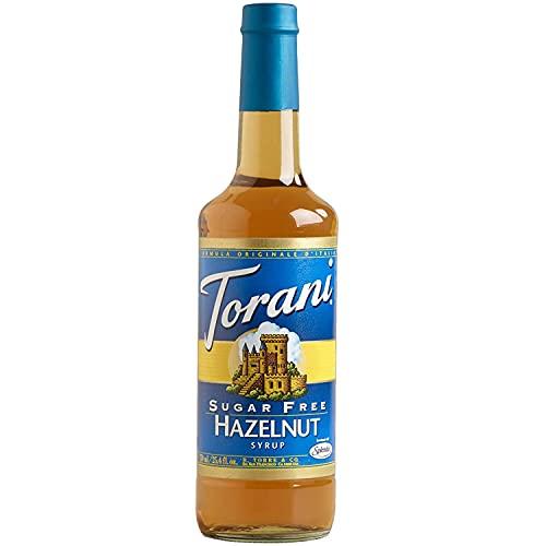 Torani Sirup Hazelnut 750 ml Flasche Zuckerfrei