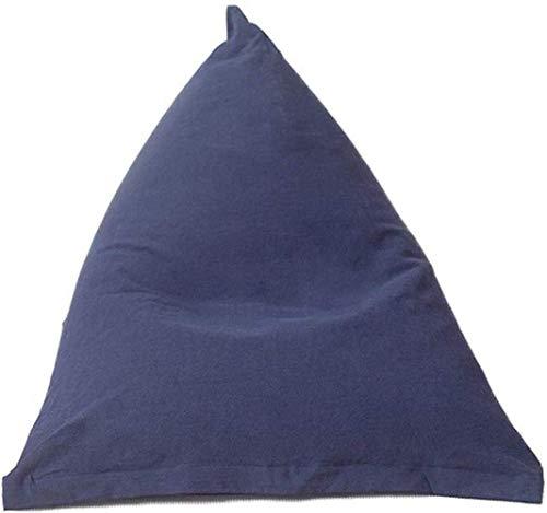 LXH-SH Sofá Perezoso Sofá Epp partículas Bolso de Haba Perezoso Tatami Sola Creatividad Bean Bag Ocio Dormitorio balcón Chica pequeño cojín cómodo, Azul Sofá Lento