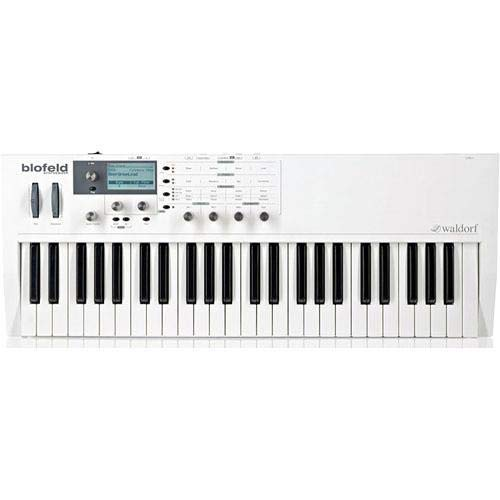Review Of Waldorf Blofeld 49-Note Semi-Weighted Action Synthesizer, White