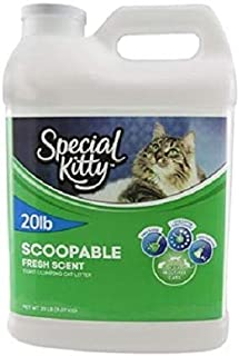 Best special kitty scoopable cat litter Reviews