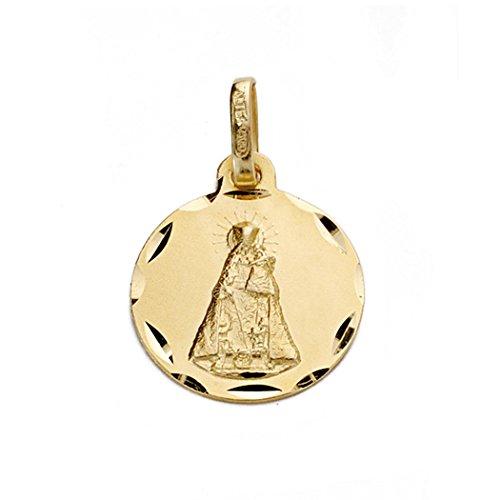 Medalla Oro 18K Virgen Desamparados [Aa0616Gr] - Personalizable - Grabación Incluida En El Precio