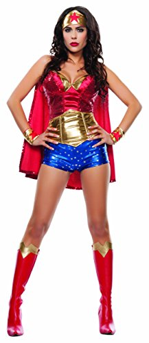 Starline, LLC. Womens Women's Wonder Lady Fancy dress costume Larg