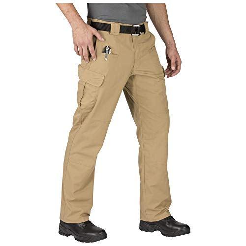 5.11 Men's STRYKE Tactical Cargo Pant with Flex-Tac, Style 74369, Coyote, 34W x 32L