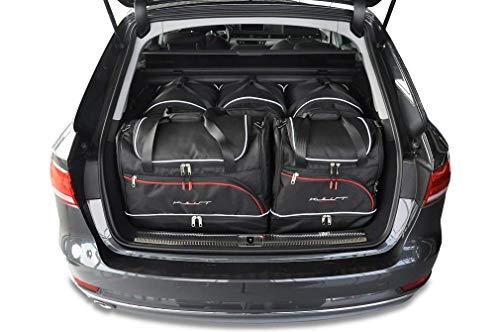 KJUST Dedizierte Reisetaschen 5 STK Set kompatibel mit Audi A4 Avant B9 2015 -