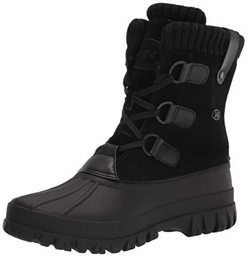 Lugz Women's Stormy Classic 6-inch Duck Toe Waterproof Fashion Boot Snow, Black, 11