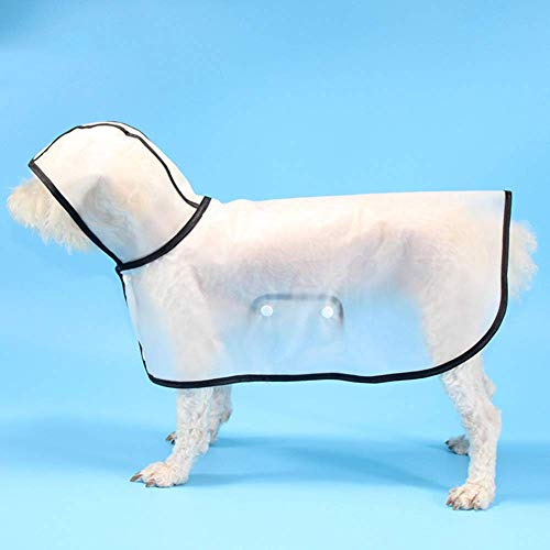 Ramps Pascua perrocho Ponchoat Poncho, Perrito Perrito Pet Pet LIGHTWEED Tedda Transparente Transparente Poncho Poncho CHAPCOAT para Perros PEQUEOS O Medios (Size : 10)