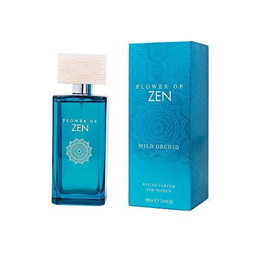Flower Of Zen - Wild Orchid, Eau de parfum naturelle en vaporisateur, 100 ml