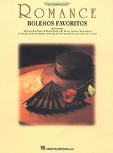 Romance: boleros favoritos: piano / vocal / guitar (Spanish Edition)