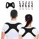 YEFIDER Haltungstrainer, Geradehalter zur Haltungskorrektur für Eine Bessere Körperhaltung, Schultergurt gegen Nacken -und Schulterschmerzen für Damen Herren -