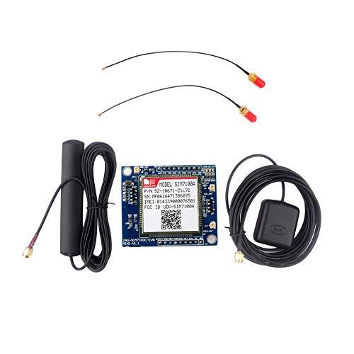 Geekstory 4G GPS GSM GPRS Module SIM7100A Development Board 5-18V LTE WCDMA GNSS B2 B4 B15 + GPS Antenna for Arduino Raspberry Pi Window Linux