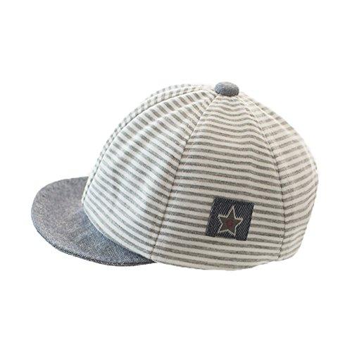 Sombrero infantil de algodón, gorro para bebé, gorro de verano, sombrero ajustable para 1-2 años de edad, sombrero...