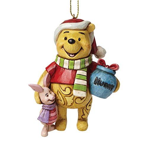 Enesco Disney Tradition Figurina Sospensione Winnie, Resina, Multicolore