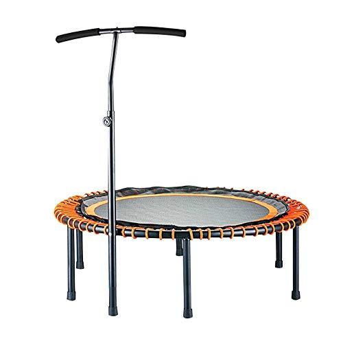 JDKC- Mini-Fitness-Trampolin, Gewichtsreduzierung, Muskelaufbau, Für Jeden Geeignet (Größe: 45 Zoll, Farbe: Orange) Innentrampolin