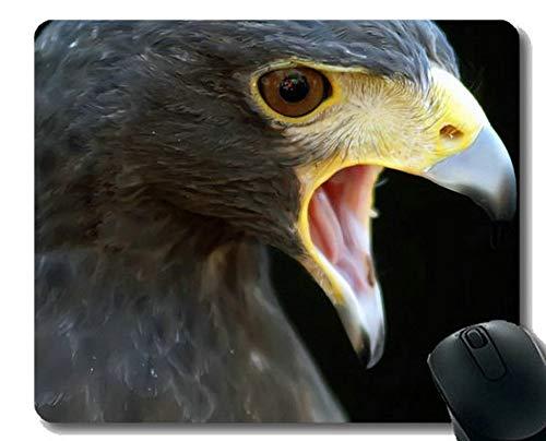 Yanteng Alfombrilla Antideslizante, Ojos Animal Office Mouse Pad