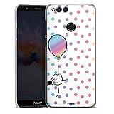 DeinDesign Coque Compatible avec Huawei Honor 7X Étui Housse Minnie Mouse Disney Produit sous...