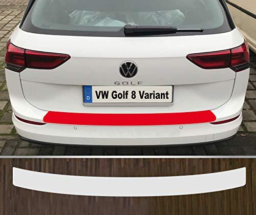 is-tuning passgenau für ***VW Golf 8 Variant*** ab 2020 Lackschutzfolie Ladekantenschutz transparent