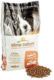 Almo Nature Cibo per cani olistico medio, con salmone e riso, 12 kg