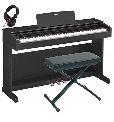 Pack Yamaha YDP-143 BK noir - Piano numérique+banquette+casque