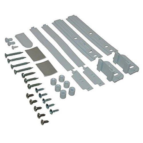 Kit di fissaggio (cerniere) porta – Frigorifero, congelatore – WHIRLPOOL, BAUKNECHT, IGNIS, IKEA