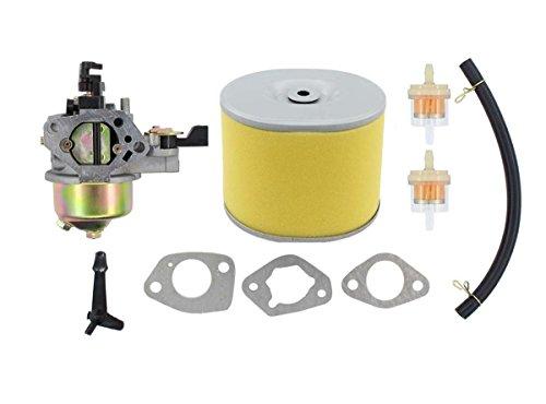 MOTOKU Carburetor Air Filter Fuel Line Carb for Honda GX390 13HP 13 HP Engine Motor Generator Pressure Washer Replaces 16100-ZF6-V01