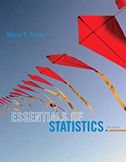 Essentials of Statistics (5th Edition)