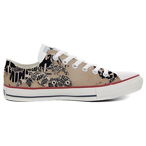 MYS Sneakers Original USA Low Customized personalisierte Schuhe (Handwerk Schuhe) globus TG35